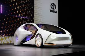 toyota unveils concept i an autonomous lifestyle car for the autonomous driving