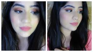 how to do simple full face makeup tutorial in hindi