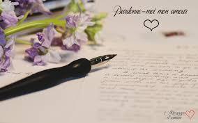 Lettres Damour Pour Se Réconcilier Après Une Dispute Message Damour