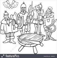 round table clipart black and white. pin knight clipart knights the round table #10 black and white
