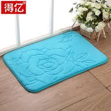 get quotations environmental protection mat slow rebound memory foam absorbent mats bedroom floor mats bathroom toilet room door