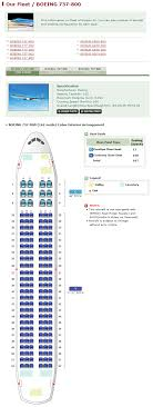 korean air airlines boeing 737 800 aircraft seating chart