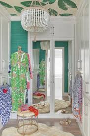 wallpaper on closet doors design ideas