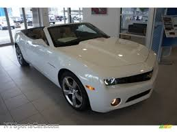 2011 Chevrolet Camaro LT/RS Convertible in Summit White - 199793 ...