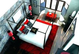 Red And Black Room Ideas Bedroom Decorating Ideas Red And Black Red ...