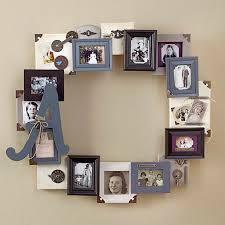 displaying picture frames | frame ideas for decorating picture frames  Unique Family Photo Frame .