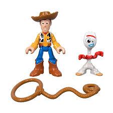 <b>Игровой</b> набор Imaginext <b>Toy Story 4</b> Woody & Forky, артикул ...
