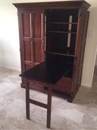 image of l shaped desk armoire ikea