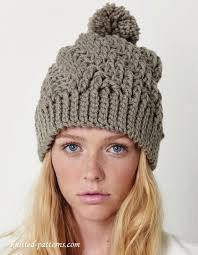 Crochet Winter Hat Pattern Mesmerizing Crochet Winter Hat Pattern Free Lets Crochet Pinte