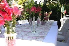 garden party table decoration ideas. elegant garden party table decor idea with pink flowers decoration ideas e