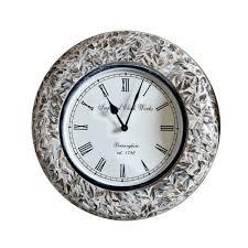 wall clock wall decor bone inlay wall clock