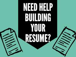 Resume Building Mesmerizing Build An Awesome Resume University Career Center