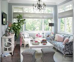 pretty design sun room furniture ideas designs comfy sunroom with brown wicker and small table also plaid floor