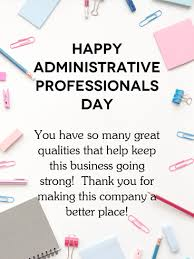 Admin Professionals Day Cards A Better Place Happy Administrative Professionals Day Card Is