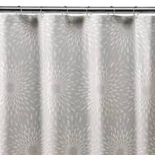 grey and turquoise shower curtain. yellow bathroom walls, gray shower curtain, and teal accents? i grey turquoise curtain o
