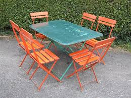 french metal folding chairs. g214 - sold; sold french metal folding chairs l