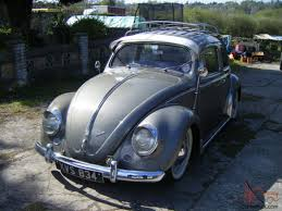 1956 VW Beetle 1200 oval deluxe