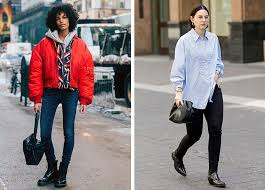 Edgier outfits like leather jackets also pair well with chelsea. How To Wear Ankle Boots With Skinny Jeans Purewow