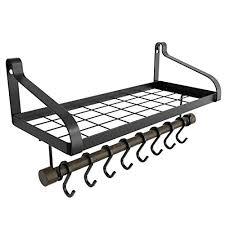 love kankei pot rack wall mounted pan