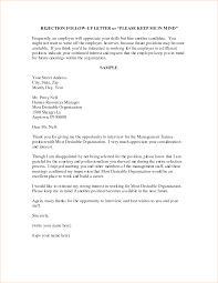 Gallery Of Sample Follow Up Letter For Interview Status Cover