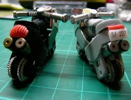 how to make turn a lighter into a mini motorcycle craftspiration