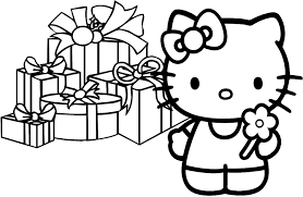 Small Picture merry christmas hello kitty coloring pages merry christmas