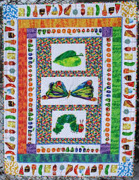 Pat's Knitting and Quilting: The Very Hungry Caterpillar Quilt & The Very Hungry Caterpillar Quilt Adamdwight.com