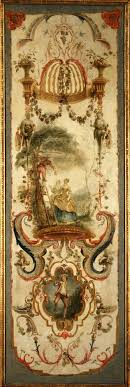 French Rococo Artist And Tapestry Designer Pannel Mini Walls Tapestry Decorative Panels Rococo