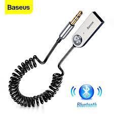 Baseus Car AUX <b>Bluetooth 5.0 Adapter</b> 3.5mm Jack <b>Wireless</b> Audio ...