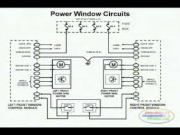 power window wiring diagram  power window wiring diagram 1