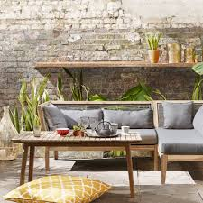 John lewis with grey outdoor cushions deck mediterranean and