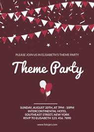 How To Create A Party Flyer Online Invitation Maker Design Invitation Cards With Free