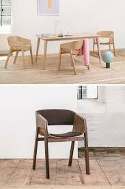 furniture ideas 14 modern wood chairs for your dining room two intersecting pieces