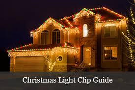outdoor holiday lighting ideas. Christmas Light Clips Guide Outdoor Holiday Lighting Ideas D