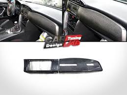2) Carbon Dash Kit board Radio Cover For Scion FRS FR-S Toyota ...
