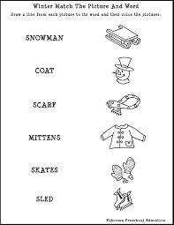 17 Best Images of Winter Kindergarten Reading Worksheets - Free ...