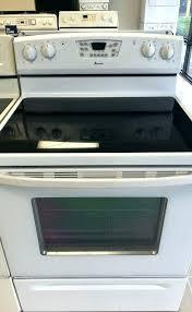 amana glass top stove glass top stove manual amana glass top range parts