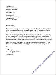 Thank You Letter Resume Cv Cover Letter