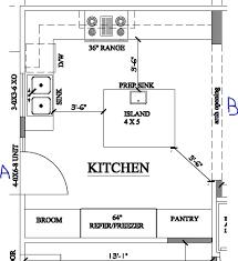 Island Kitchen Floor Plan Island Kitchen Floorplan Critique Simple Design  Ideas