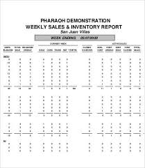 Weekly Sales Report 5 Free Excel Pdf Documents Download Free