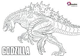 You can print or color them online at getdrawings.com for absolutely free. Godzilla King Of Monsters Free Printable Coloring Page Bubakids Com Godzilla Bubakidscom Godzill Coloring Pages Animal Coloring Pages Coloring Book Pages