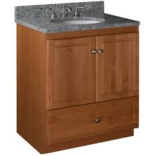 strasser woodenworks simplicity 30 bathroom vanity base medium alder 21 about this picture 1 of 2 picture 2 of 2
