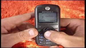 Обзор Motorola C113A - YouTube
