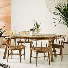 outdoor dining table and chairs. Dexter Outdoor Dining Set - Table + 4 Chairs Outdoor Dining Table And Chairs