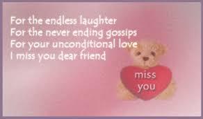 miss you dear friend