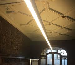 Hanging Fluorescent Light Tube Hot Item 4ft Led Fluorescent Tube Light Fixture For Pendant Hanging Suspended Ceiling Mounted