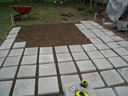 patio pavers with grass in between. Building Bensonhurst: May 2010 Once The Pavers Were Down We Dumped Top Soil Over Them. We\u0027re Hoping To Grow Grass In Between Them Make It A More Rustic Patio With