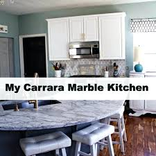 carrara marble countertop my marble kitchen and tips for choosing marble spinach tiger white carrara marble