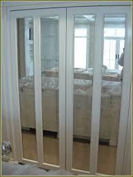 image mirrored closet door. Mirrored Bifold Closet Doors Home Design Ideas Image Door