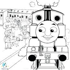 Thomas The Train Printable Coloring Pages The Train Printable